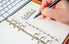 We all have goals, but not all of us take the time to record and track them. According to goal-setting experts, identifying weekly (and even daily) goals greatly increases the chances that they'll become reality. Daily Goals, Life Goals, Spark Notes, Goal Setting Life, Motivational Articles, Goal Setting Worksheet, Short Term Goals, Spark People, Personal Goals