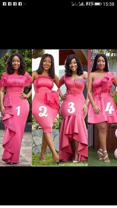 African Bridesmaid Dresses, African Lace Dresses, African Wedding Dress, Latest African Fashion Dresses, African Dresses For Women, African Print Fashion, African Attire, Lace Bridesmaids, Lace Dress Styles