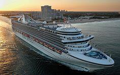9 Night Grand Caribbean Sampler Caribbean Princess Princess Cruises Itinerary: Fort Lauderdale (Port Everglades) -> Princess Cays -> Gra...