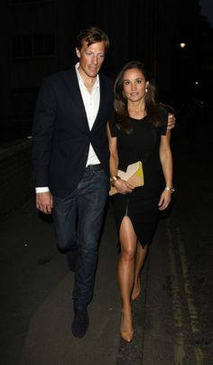 Pippa Middleton - Pippa Middleton Enjoys a Night Out with Nico Jackson