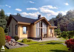9 casas de madeira que o inspirarão a construir a sua (De Rita Paião - Homify )