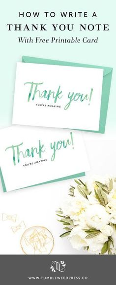 Thank You Card Free Printable by TumbleweedPress. Sample Thank You Notes, Teacher Thank You Notes, Printable Thank You Notes, Free Printable Cards, Free Christmas Printables, Free Printables, Teacher Gifts, Funeral Thank You Cards, Free Thank You Cards