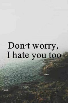 I think I hate you most Bitch Quotes, Sassy Quotes, Badass Quotes, Sarcastic Quotes, Mood Quotes, Funny Quotes, Life Quotes, Hate You Quotes, Bts Qoutes