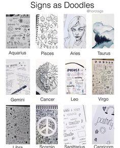 Signs doodles