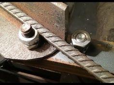 Как сделать арматурогиб без сварки - YouTube Metal Bending Tools, Metal Working Tools, Metal Tools, Metal Projects, Welding Projects, Metal Fabrication Tools, Kids Homework Station, Concrete Patio Designs, Metal Bender