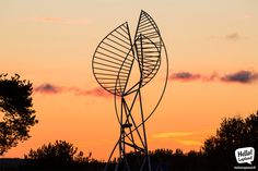 September sunset in Rovaniemi. Arctic, Finland, Ferris Wheel, September, Fair Grounds, Magic, Sunset, Travel, Viajes