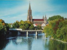 Neu Ulm, Germany (Ulm Munster Cathedral - at the time, the tallest church steeple in the world) I lived here for 3 years.