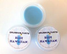 Blue Hawaiian Scent  DRUNKEN TARTS  3 or 6 Soy & by DrunkenTarts