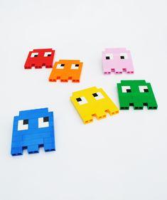 Lego | 8-bit ghosts - minieco