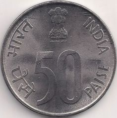Wertseite: Münze-Asien-Indien-Rupee-0.50-1988-2007