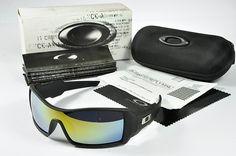 Oakley Oil Rig Sunglasses Black Frame Yellow Fire Lens