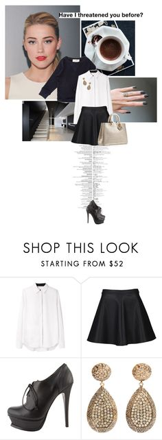 """""""Hurt me with the truth --- but never --- comfort me with a lie."""" by are-you-with-me ❤ liked on Polyvore featuring Isabel Marant, Alexander Wang, Alice In The Eve, Yves Saint Laurent and Ileana Makri"""