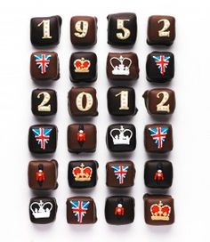 Diamond Jubilee chocolate.s