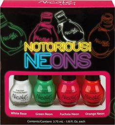 OPI has a new neon nail color collection!