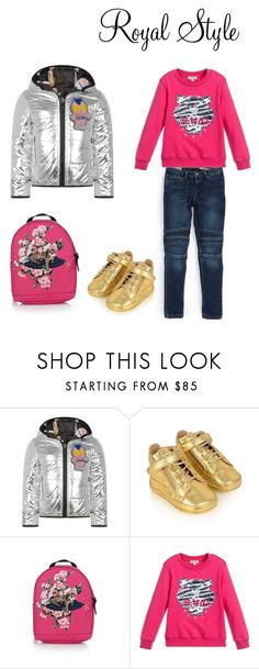"""""""Young girls attire ."""" by diversityle ❤ liked on Polyvore featuring Fendi, Ralph Lauren, Dolce&Gabbana and Kenzo"""