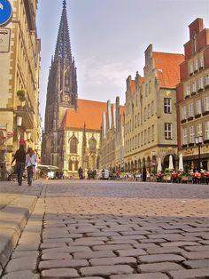 Prinzipalmarkt. Münster, Germany