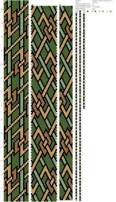 Переплёт с пряжкой и зигзагом 0,3214 (18) http://crochetbeadpaint.info/raports/2468643