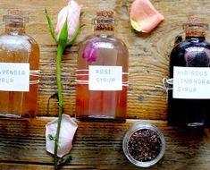 A Drinkable Bouquet: 3 Floral Syrups For Spring Cocktails - The Chalkboard