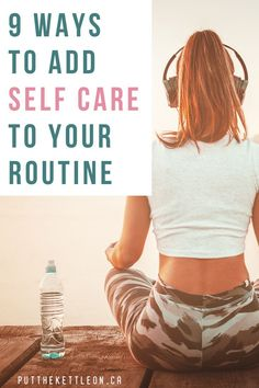 When was the last time you dedicated time for self care? No more excuses. Here are 9 ways to look after YOU this week. Health And Fitness Articles, Health And Wellness, Self Appreciation, Positive Self Talk, Improve Mental Health, Relaxation Techniques, You Better Work, Self Care Routine, Coping Skills