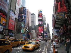 NEW YORK NEW YORK NEW YORK!