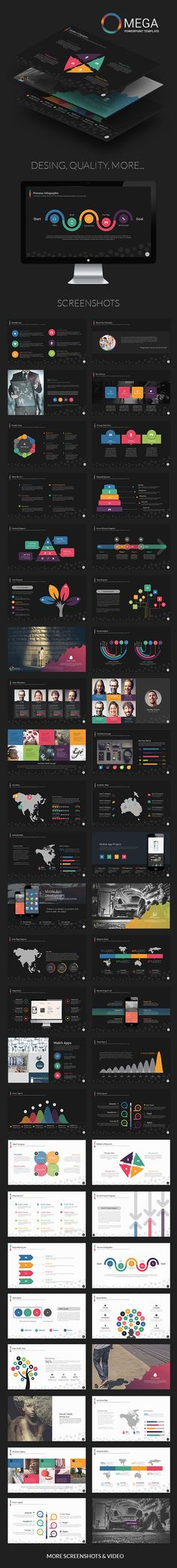 Powerpoint Template #design Download: http://graphicriver.net/item/omega-powerpoint-template/11830122?ref=ksioks