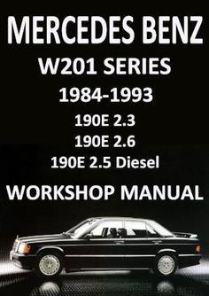Mercedes benz c350 w204 manual de taller workshop repair mercedes benz 190 e and 190 d w201 series 1984 1993 workshop manual fandeluxe Choice Image