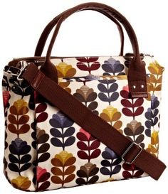 I need - okay want - a new work tote. Orla Kiely Handbags, Orla Keily, Chanel, Work Tote, Pack Your Bags, 3rd Baby, Modern Retro, Goodie Bags, Autumn Inspiration