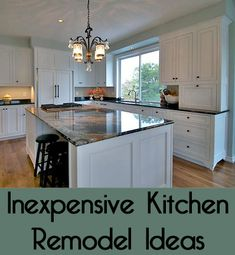 Many people would love to totally gut their kitchen and start over with a completely new design.  Unfortunately, money does not grow on trees and most of us have a very limited budget.  Luckily, there are many ways to save money on a kitchen remodel.  Here are a few ideas for an inexpensive kitchen remodel for your home.