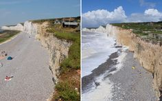 The National Trust warns dozens of the country's favourite coastal beauty spots are under threat from the rising seas