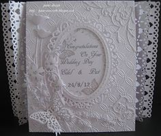 pamscrafts: commissioned wedding card