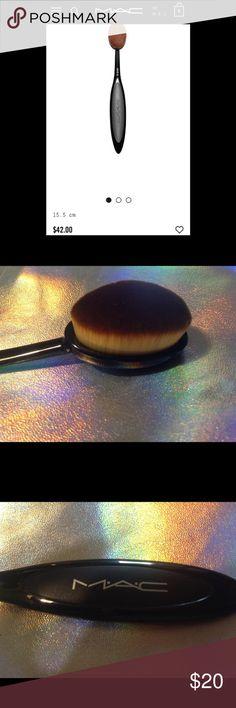 HOST PICK ❤️ MAC Brush Free gift Foundation brush free BETSEY JOHNSON Earring with purchase of MAC OVAL 6 Brush! MAC Cosmetics Makeup Brushes & Tools