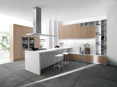 cuisine gris et bois en 50 modles varis pour tous les gots - Cuisine Gris Et Bois