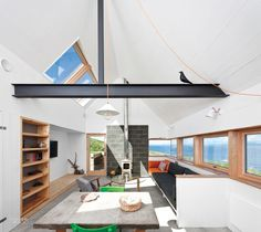 Firm: Rural Design. Site: Milovaig, Isle of Skye, Scotland.Photography by David Barbour.