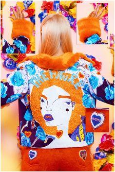 Eclectic Fashionista Catalogs - The Clio Peppiatt Autumn/Winter 2014 Collection is Eccentric (GALLERY)