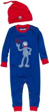 I really want these Grover jammies for Lincoln.
