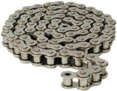 Ready for Free Shipping with in Bangalore Note: not for all the products Single strand - 19.05 mm Pitch, 10 Feet Chain, British Standard, Chain Code - PHC 12B-1X10FT, SKF Brand For more details drop email:info@steelsparrow.com Plz visit: http://www.steelsparrow.com/chains-sprockets/chains.html