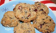 Swirled Chocolate Chip Cranberry Oatmeal Cookies {Gluten-free}