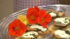 Crostini mit Feigen und Mozzarella