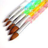 350buy 5pcs Acrylic Nail Art UV Gel Carving Pen Brush Liquid Powder DIY No. 2/4/6/8/10 - #nails #nailart #nailtools #nailartaccessories -   5 sizes: No.2,No.4, No.6, No.8, No.10  Color:   Mix Color   Package Includes:   5 pcs Nail Art Pen  Enable you