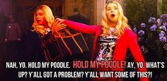 White chicks!!! OMG this movie was sooooo funny and i luv this part omg yes just yes