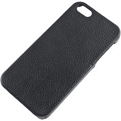 Pleather Back Cover for Apple #iPhone 5, Black $9.99 From #DayDeal