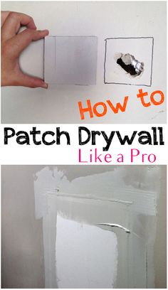 Flawless Drywall Patching- Tips and tricks!, Flawless Drywall Patching- Tips and tricks!, Flawless Drywall Patching- Tips and tricks! Tips And Tricks, Home Improvement Loans, Home Improvement Projects, Home Decor Styles, Cheap Home Decor, Do It Yourself Home, Improve Yourself, Home Renovation, Home Remodeling