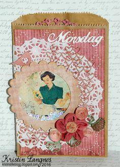 Kristins lille blogg: Morsdagskort