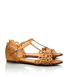 $285 Aileen Flat Sandal   Womens Sandals   ToryBurch.com