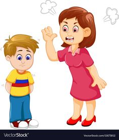 Cartoon Mather scolding her son Royalty Free Vector Image Creative Poster Design, Creative Posters, Mother Clipart, Student Cartoon, All About Me Preschool, Speech Therapy Games, Kids Reading Books, Flashcards For Kids, Human Drawing