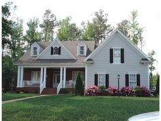 Country Style 1 story 4 bedrooms(s) House Plan with 2211 total square feet and 3 Full Bathroom(s) from Dream Home Source House Plans Country Style House Plans, Dream House Plans, House Floor Plans, My Dream Home, Dream Houses, 2200 Sq Ft House Plans, Country Houses, Future House, Building A House