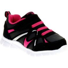 Danskin Now Toddler Girls' Lightweight Running Shoe, Toddler Girl's, Size: 9, Black