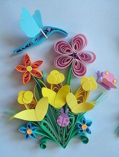 Paper Quilling Joslyn (detail) by Hope's art, via Flickr