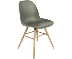 Mit dem Stuhl Albert Kuip in Grün mit Beinen aus Eschenholz steht dem perfekten Dinner nichts mehr im Weg. Shoppen Sie weitere moderne Möbel von ZUIVER auf >> WestwingNow.