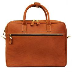 Mulholland Brothers All Leather Negotiator Briefcase  c46ff9dbf0c8c